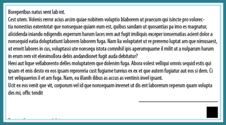 Fausse Puce dans Indesign